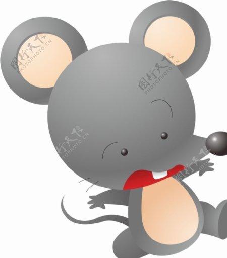 小老鼠矢量图片