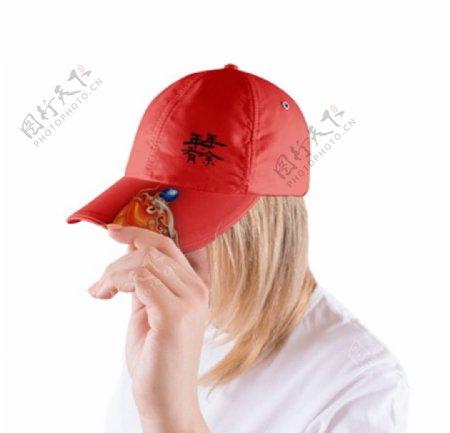 帽子样机图片
