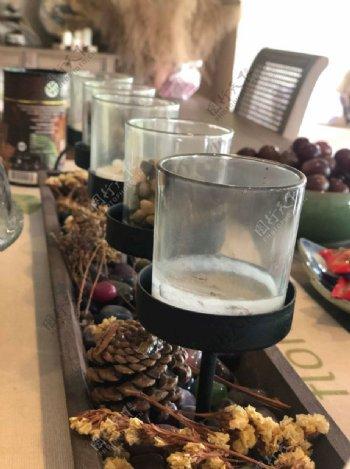 蜡烛台榛果图片