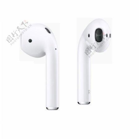 苹果蓝牙耳机图图片