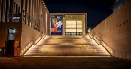 剧场大门口图片