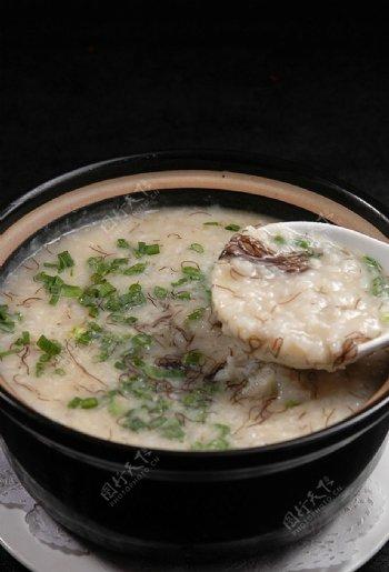 发财海鲜粥图片