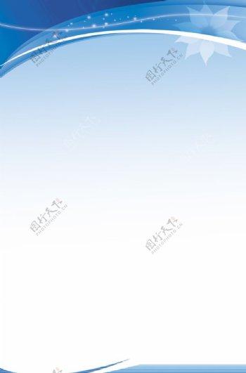蓝色背图片