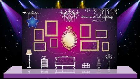 主体婚礼现场布置设计源文件素材图片