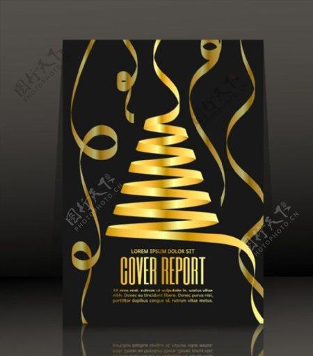 圣诞节海报矢量图片