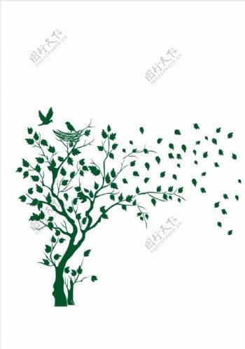 树矢量图片