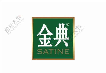 金典奶logo图片