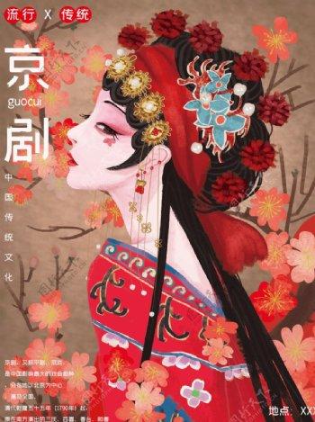 中国传统文化京剧图片