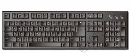 量键盘图片