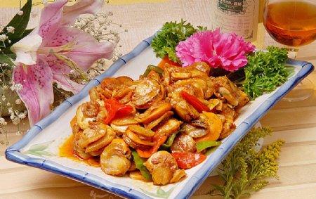 东北菜鸳鸯贝图片