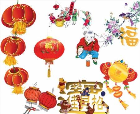 新年节日素材图片