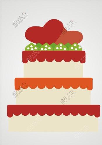 矢量蛋糕生日蛋糕图片