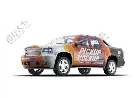 高品质高端轿车车体广告展示模型图片