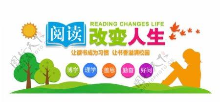 阅读改变人生图片