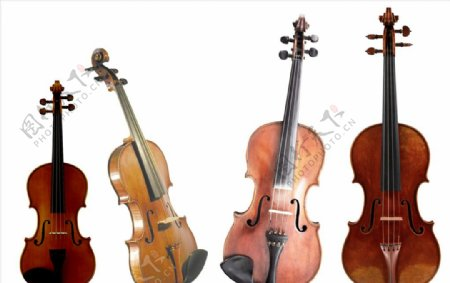 小提琴PNG高清免抠图片