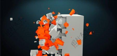 C4D模型动画图片
