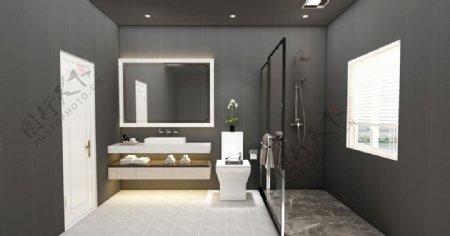 简约浴室卫生间图片
