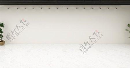 走廊空白文化墙图片