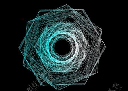 高级可编辑渐变几何图片