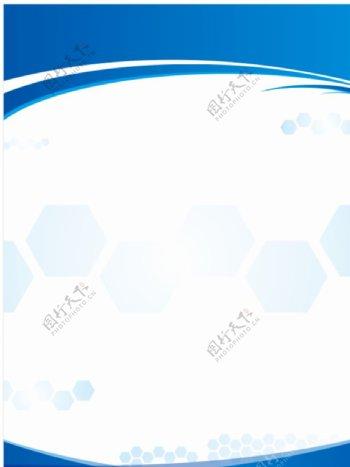 蓝色科技背景制度图片