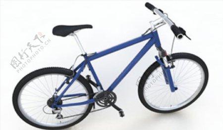 C4D模型山地自行车图片