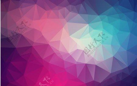 梦幻菱形背景图片