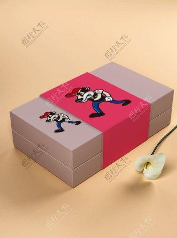 礼盒样机图片