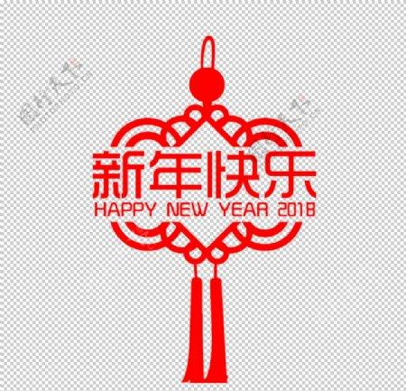 新年中国结素材图片