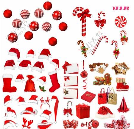 圣诞分层素材图片