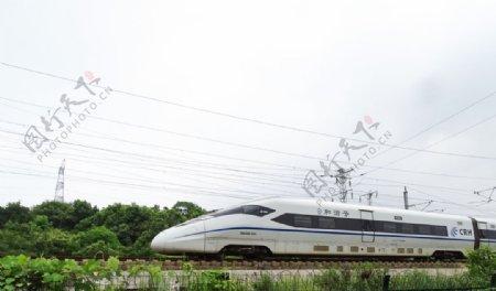高铁复兴号列车图片