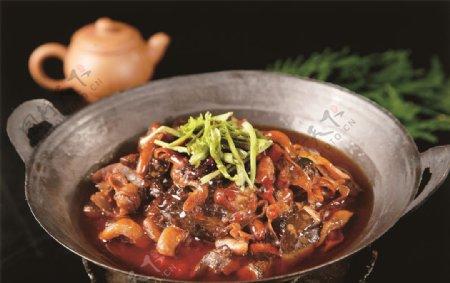 干锅鳖杂图片