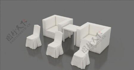 酒店椅会议沙发图片