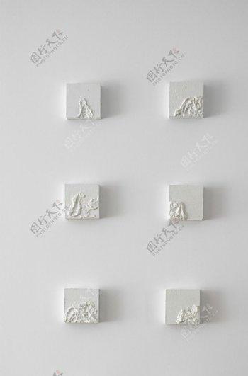 墙面雕塑图片