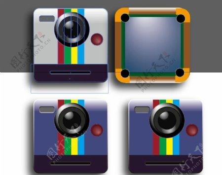 相机UI台球桌UI图片