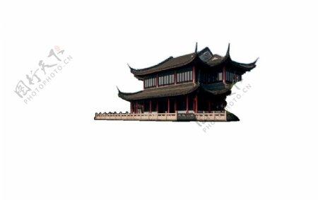 楼png免扣素材古风建筑物图片