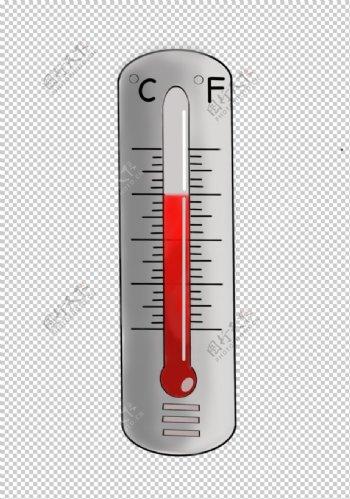 温度计化学实验器材PNG图片