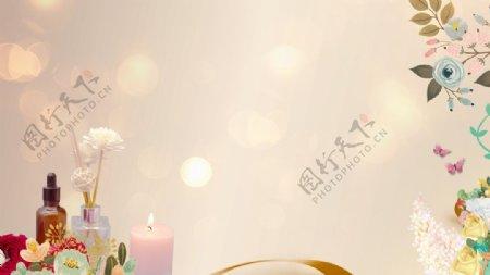 香薰蜡烛diy地产活动图片