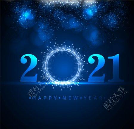 2021蓝色背景图片
