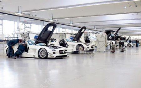 奔驰AMG工厂图片