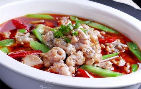 海鲜鲜椒牛蛙图片