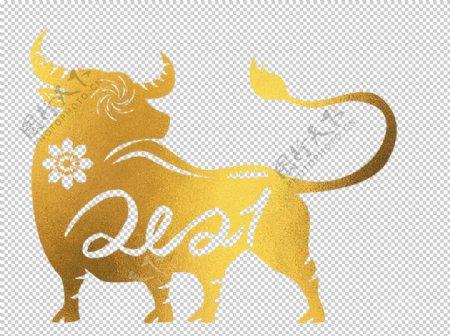 牛年创意剪纸图片