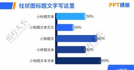 PPT柱状图图片