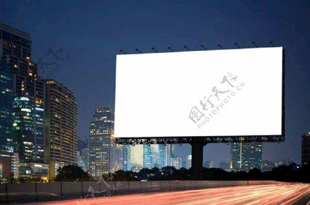空白灯箱广告创意效果图图片