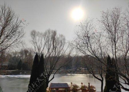 冬日阳光图片