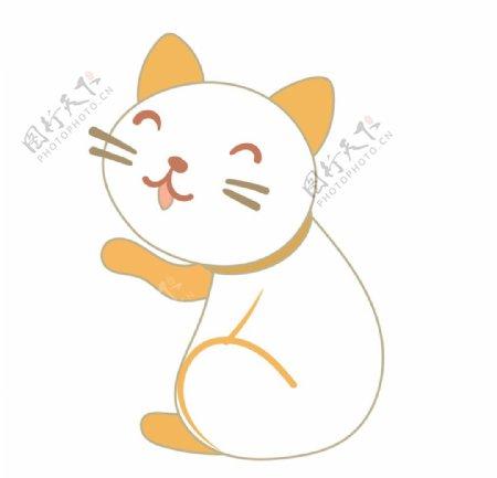 猫简笔画图片