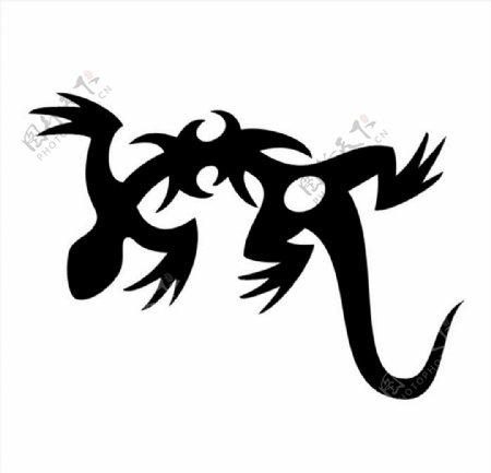 四脚蛇图片