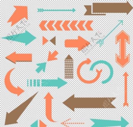 矢量创意箭头图标图片