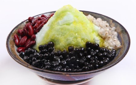 冰淇淋沙冰图片