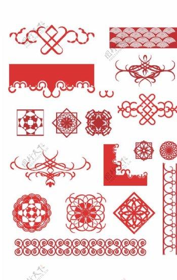 创意古典花纹图片