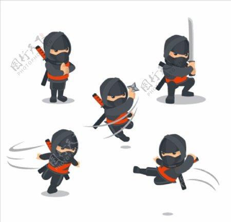 日本忍者图片